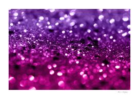 Pink Purple Lady Glitter #1 #shiny #decor #art