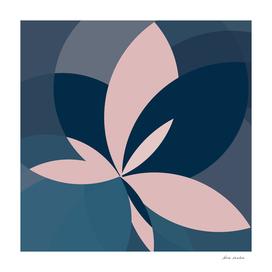Rose Blue Butterfly Bloom
