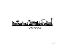 Las Vegas Skyline art