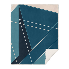 Blue & Neutral Geometrical