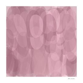 Oval Shapes Purple shades