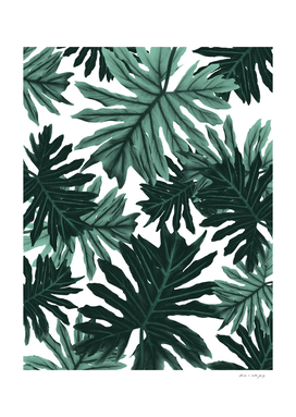 Philo Hope - Tropical Jungle Leaves Pattern #6 #tropical