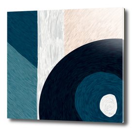 Blue & Neutral - Decorative Digital Acrylic