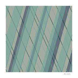 Teal blue green stripes