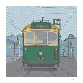 Melbourne Tram by Matthew Broughton