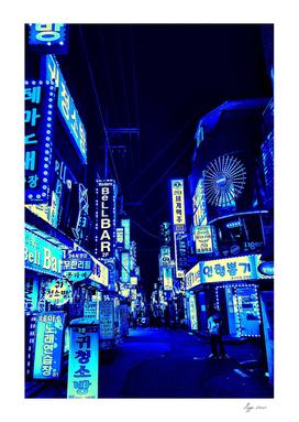 Bright Blue Nights