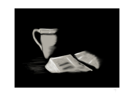 24 - Bible and cup