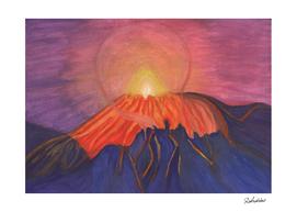 Fading Volcano