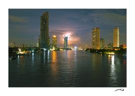 Thai sky by #Bizzartino
