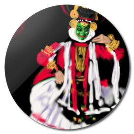 25 - Kathakali, Kerala art form