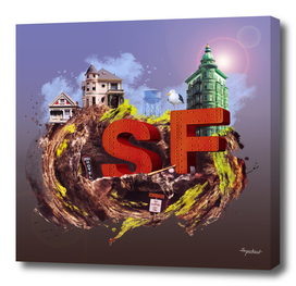 A part of San Francisco