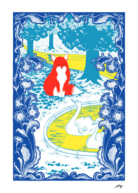 The Red Fox No.2 - Blue edition