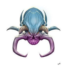 Spider Skull Horns