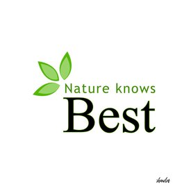 Nature knows best
