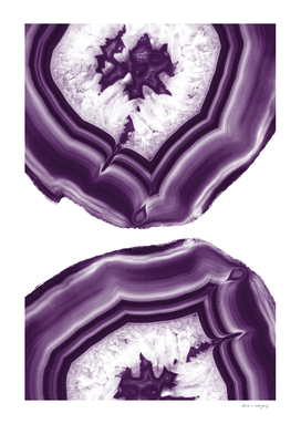 Purple Agate Glam #1 #art #decor