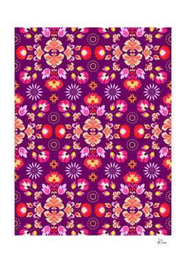 Fiesta Folk Purple