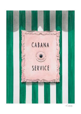 Cabana Service