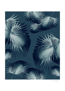 Fan Palm Leaves Paradise #12 #tropical #decor #art