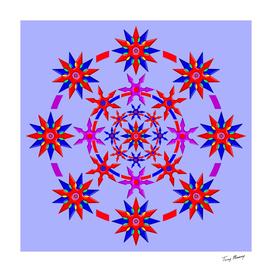 Shuriken Lotus Flower version 3