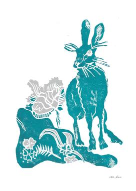 Tamar hare blue