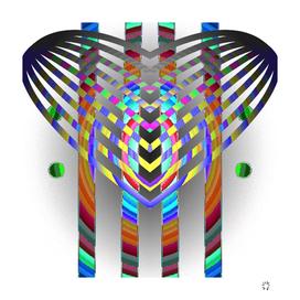 elefant abstract