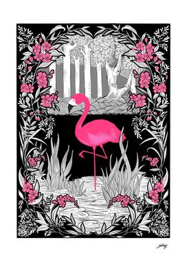 The Pink Flamingo No.1