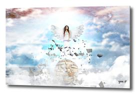 Archantael silver angel by GEN Z