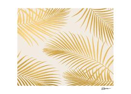 Metallic Gold Palms