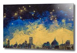 Parisian Starry Night