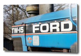 Old Blue - Ford TW15
