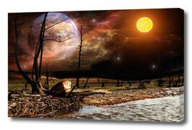 The strange starry night