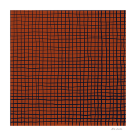 Navy and Rust (XV) Thread Pattern
