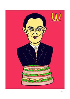 Salvador Dali Hamburger