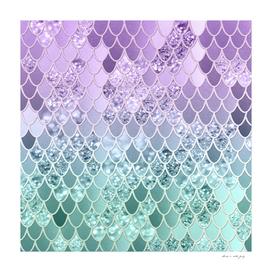 Mermaid Glitter Scales #1 #shiny #decor #art