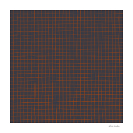 Grey and Rust Thread Pattern