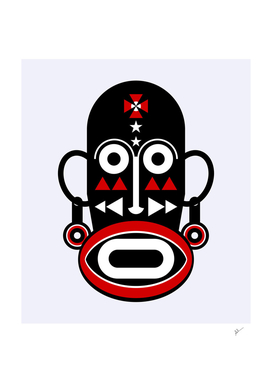 african moai mask