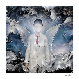 Angel in White Suit