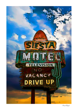 Siesta Motel Art