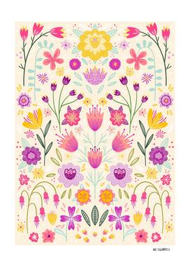 Botanical Floral Symmetry