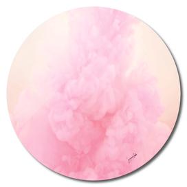 Pastel pink-smoke