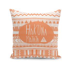 Hakuna Matata Orange