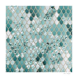 Mermaid Glitter Scales #3 #shiny #decor #art