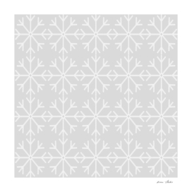 Abstract geometric pattern - gray and white.