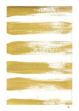 Gold Brushstrokes