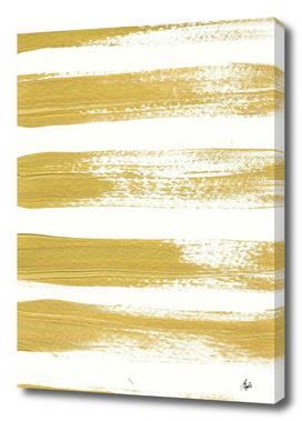 Gold Brushstrokes