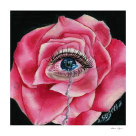 Rose tear