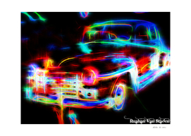 Vintage Car 32 Neons Edition