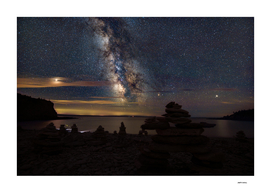 Cape Enrage Milky Way