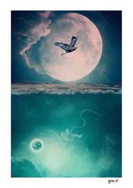 Lunar mare by GEN Z