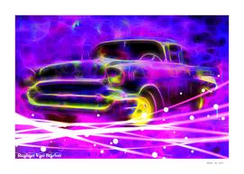 Vintage Car 39 Neons Edition